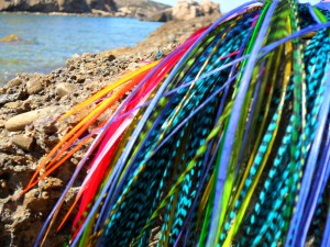 Ibiza Feathers 50 pieces